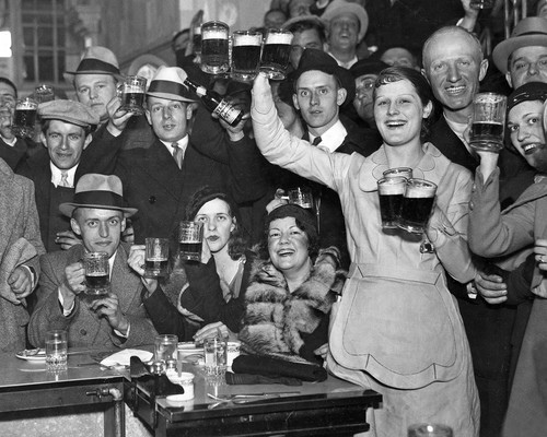 Post Prohibition Beer Drinkers